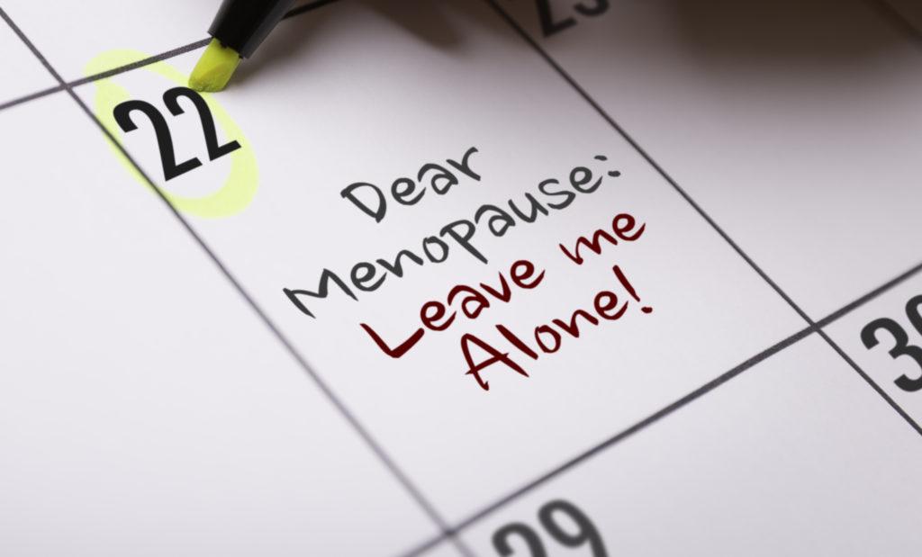 Menopause Calendar