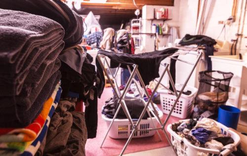 Piles of Laundry